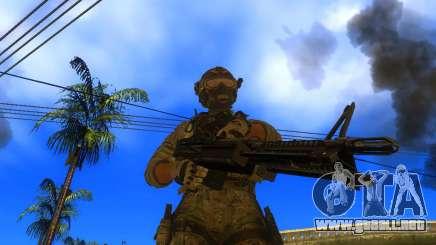 La ametralladora M60E4 para GTA San Andreas
