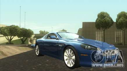 Aston Martin DB9 tunable para GTA San Andreas