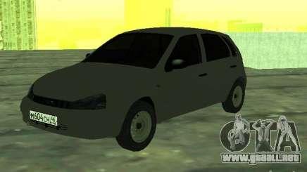 LADA 1119 Kalina Hatchback para GTA San Andreas