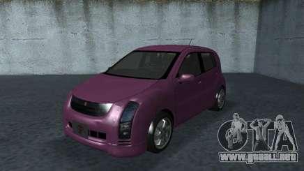 Toyota WiLL Cypha para GTA San Andreas