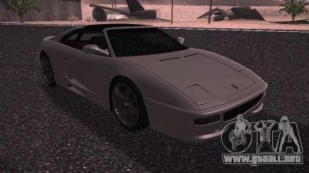 Ferrari F355 Targa para GTA San Andreas