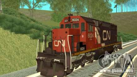 Canadian National SD40U para GTA San Andreas