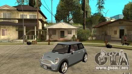 Mini Cooper - Stock para GTA San Andreas