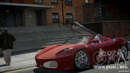 Ferrari F430 Spider para GTA 4