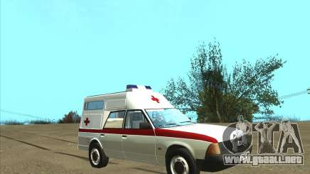 Ambulancia AZLK 2901 para GTA San Andreas