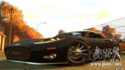 Spyker C8 Aileron para GTA 4