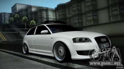Audi S3 Euro para GTA San Andreas