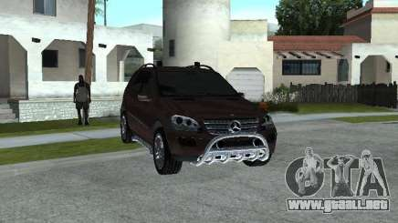 Mercedes-Benz ML500 para GTA San Andreas