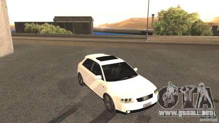 Audi A3 1.8T 180cv para GTA San Andreas