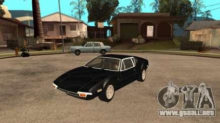 1971 De Tomaso Pantera para GTA San Andreas