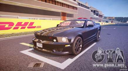 Saleen S281 Extreme Unmarked Police Car - v1.1 para GTA 4