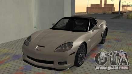 Chevrolet Covette Z06 para GTA San Andreas