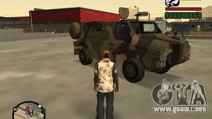 Australian Bushmaster para GTA San Andreas
