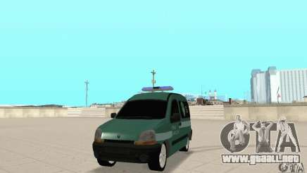 Renault Kangoo Straz Graniczna para GTA San Andreas