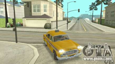 Checker Marathon 1977 Taxi para GTA San Andreas