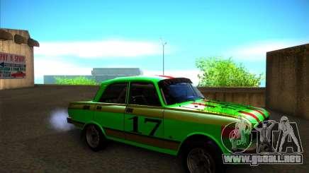 Rally de 2140SL AZLK para GTA San Andreas