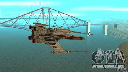 X-WING de Star Wars v1 para GTA San Andreas