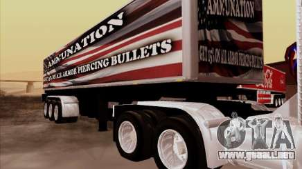Trailer, Peterbilt 377 para GTA San Andreas