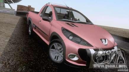 Peugeot Hoggar Escapade 2010 para GTA San Andreas