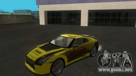 Amarillo Nissan GTR35 para GTA San Andreas