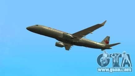 Embraer ERJ 190 Air Canada para GTA San Andreas