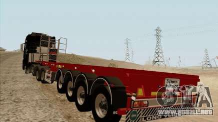 Remolque MAN TGX 8 x 4 para GTA San Andreas