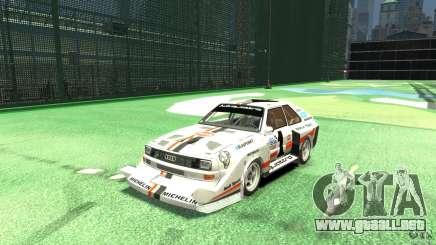 Audi Quattro Group B para GTA 4