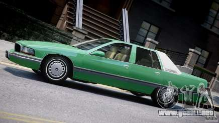 Buick Roadmaster Sedan 1996 v1.0 para GTA 4