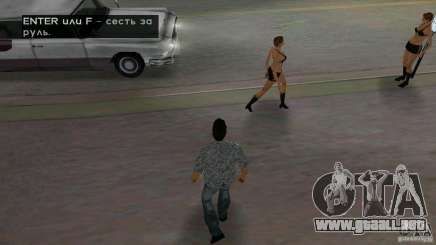 Caminar para GTA Vice City