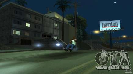 Invisible Blista Compact para GTA San Andreas