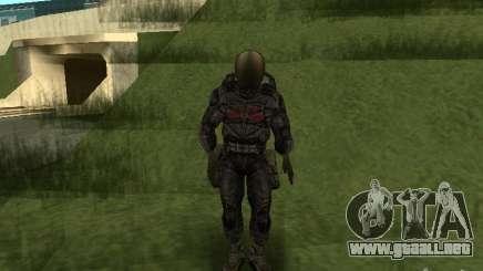 Miembro considera en traje para GTA San Andreas