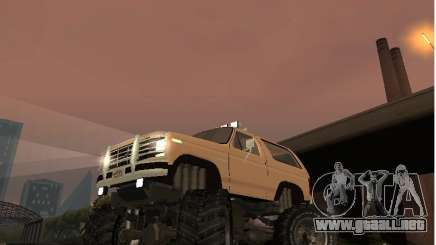 Ford Bronco IV Monster para GTA San Andreas