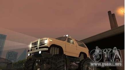 Ford Bronco IV Monster para GTA San Andreas