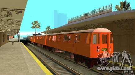 Liberty City Train CP para GTA San Andreas