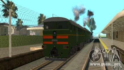 Locomotora 2te116 para GTA San Andreas
