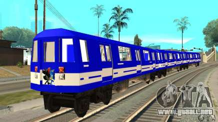 Liberty City Train Sonic para GTA San Andreas