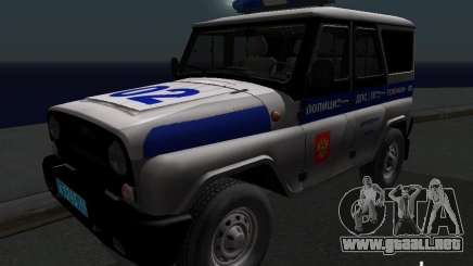 Policía 315195-UAZ Hunter para GTA San Andreas