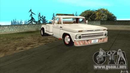 Camión de remolque Chevrolet para GTA San Andreas
