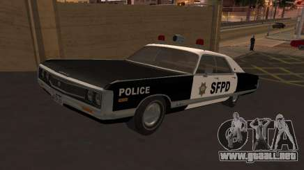Chrysler New Yorker Police 1971 para GTA San Andreas