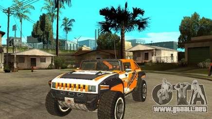 Hummer HX Concept from DiRT 2 para GTA San Andreas