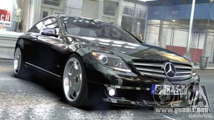 Mercedes-Benz CL65 SV12S Brabus 2012 para GTA 4