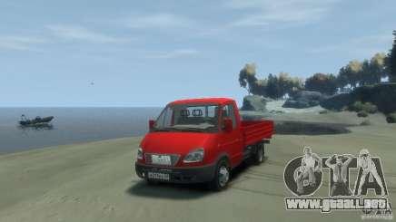 GAZ 3302-14 (Gazelle a bordo) para GTA 4