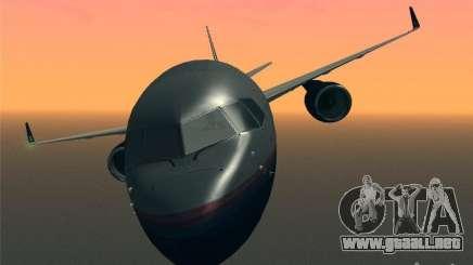 Boeing 757-200 United Airlines para GTA San Andreas