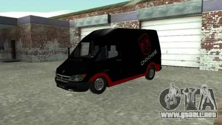 Dodge Sprinter Van 2500 para GTA San Andreas