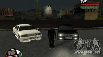 Toyota Crown Tunable para GTA San Andreas