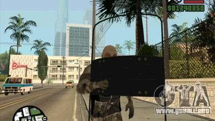 Escudo de armadura de Call of Duty Modern Warfare 2 para GTA San Andreas