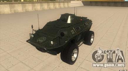 Vehículos blindados de la GTA 4 TBOGT Original con textura para GTA San Andreas