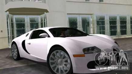 Bugatti Veyron EB 16.4 para GTA Vice City