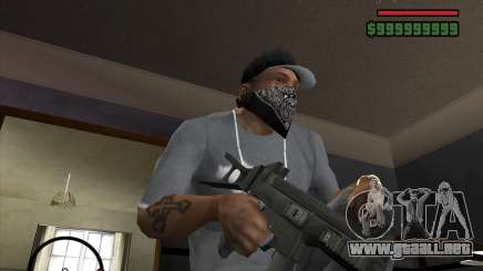 Ump 45 HD para GTA San Andreas