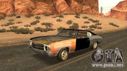 Chevrolet Chevelle Rustelle para GTA San Andreas